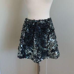 Gorgeous All Saints sequin skirt, size 6, mini!